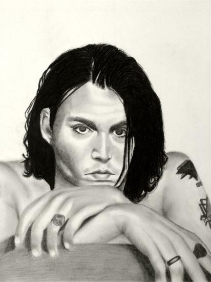 Johnny Depp par abish